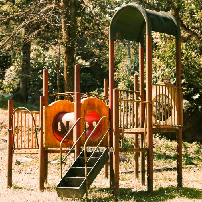 Cedar Home Playground Equipment